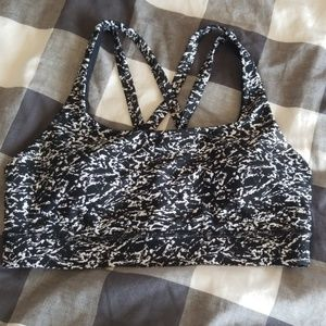 Perfect condition lululemon sports bra